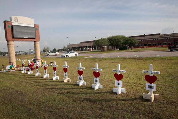Santa Fe High School shooting suspect's father