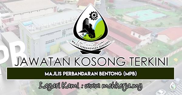 Jawatan Kosong Terkini 2019 di Majlis Perbandaran Bentong (MPB)