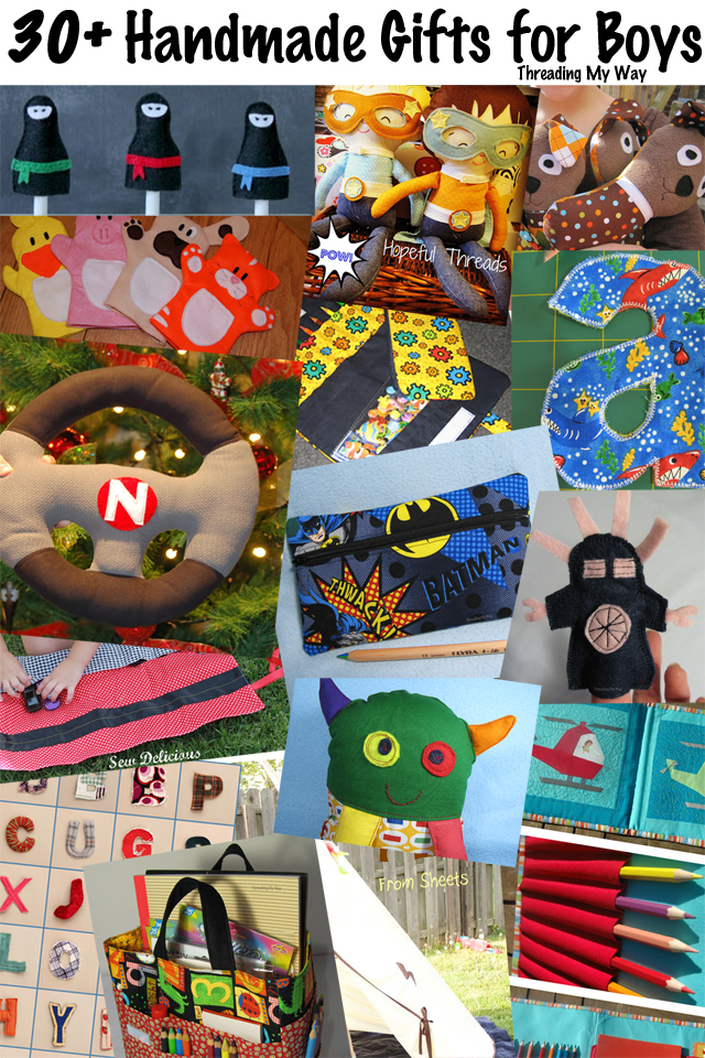 Threading My Way 30 Handmade Gifts For Boys