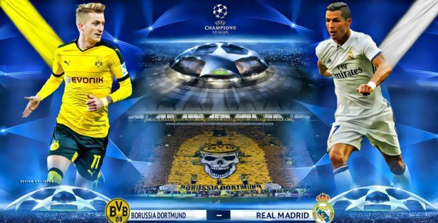 Prediksi Bola Dortmund vs Real Madrid 27 September 2017