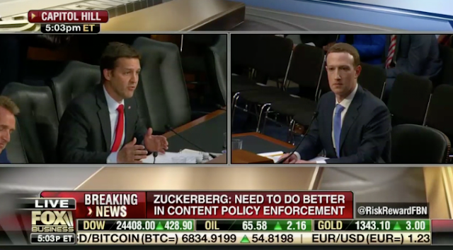 Zuckerberg Struggles to Answer Sasse's Plea to Define Hate Speech; 'This Is a Really Hard Question'