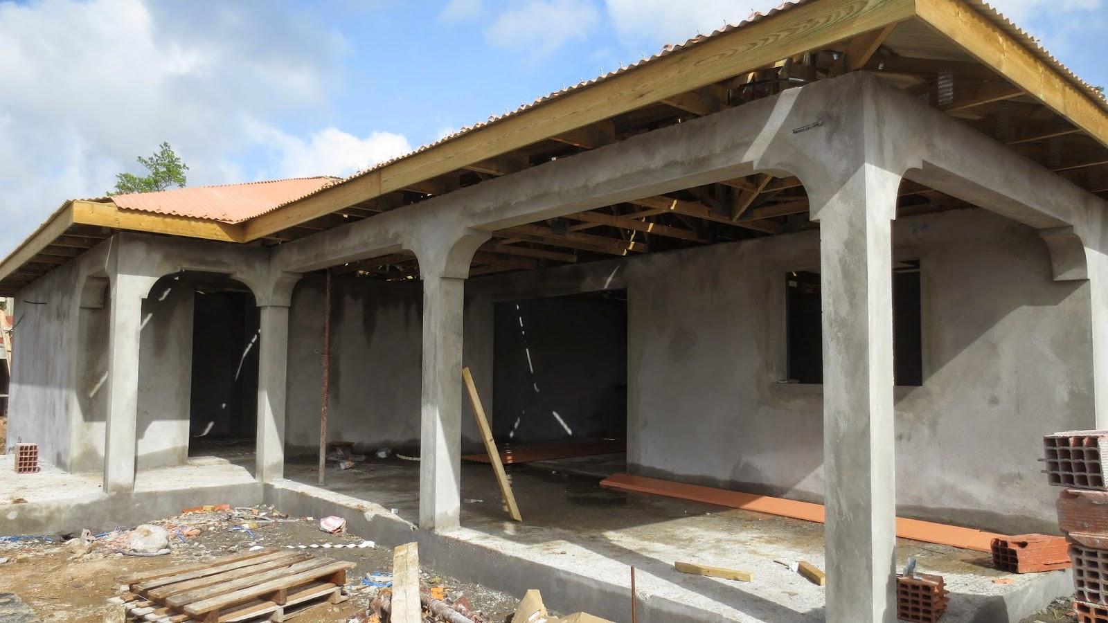 la toiture la construction de notre maison en martinique. Black Bedroom Furniture Sets. Home Design Ideas