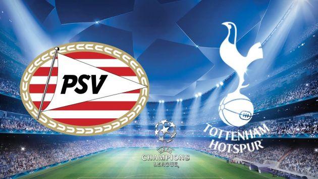 PSV Eindhoven vs Tottenham