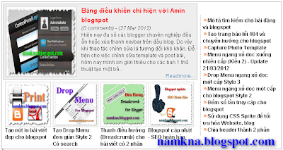 Recent Post theo Label ở Homepage - Tiện ích Magazine Recent Posts cho Blogger - by: http://namkna.blogspot.com/