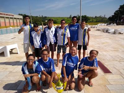 Natação registrense conquista 28 medalhas na final estadual do Pró-Natação 2017