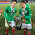 Canteranos Albiverdes campeones en China con México Sub 18