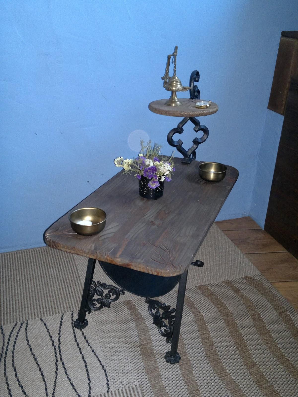 Con hierro y madera mesa centro - Mesa centro madera y hierro ...