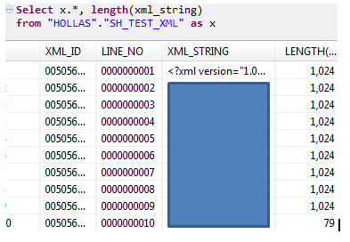 A closer look at tables that contain LOB data type columns