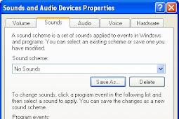 Cara Mengganti Nada Log on Pada Windows XP
