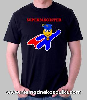 super magister - prezent na obronę mgr