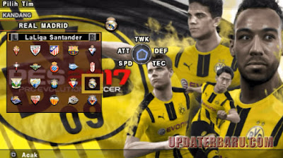 Download Game PES2017 Pro Evolution Soccer 17 Jogress V2 ISO For Android Emulator PSP Versi Terbaru