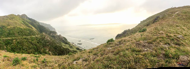 Sunset in Batanes - Panorama