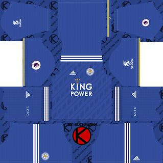 Leicester City 2018/19 Kit - Dream League Soccer Kits
