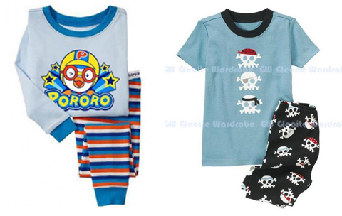 contoh baju tidur anak laki laki