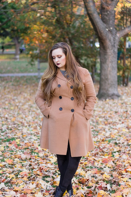 fall coats for curvy girls