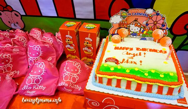 Jollibee Kids Party - Red Ribbon Birthday Cake