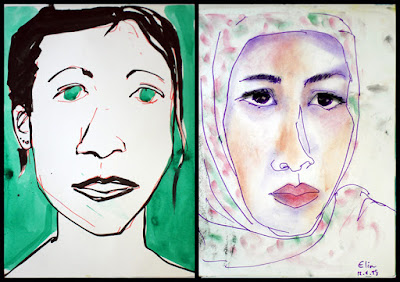 Portraits made while living in Kuala Lumpur, Malaysia
