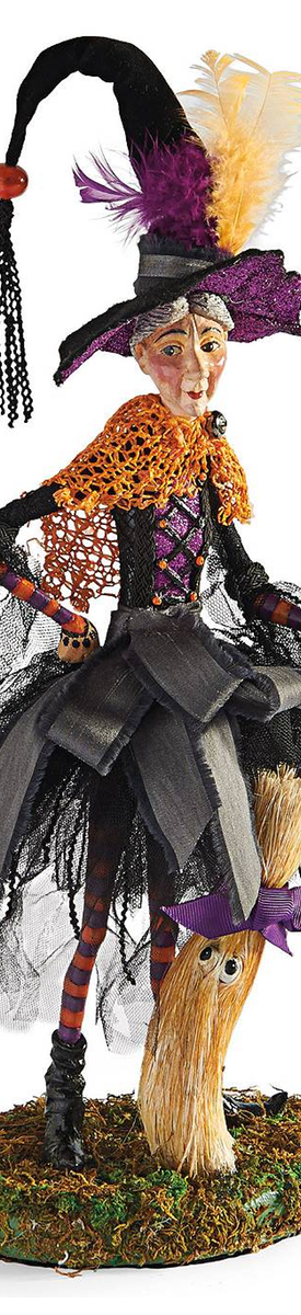 Grandin Road-Willow Witch Figure