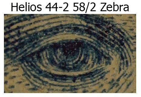 Helios 44-2 58/2 Zebra