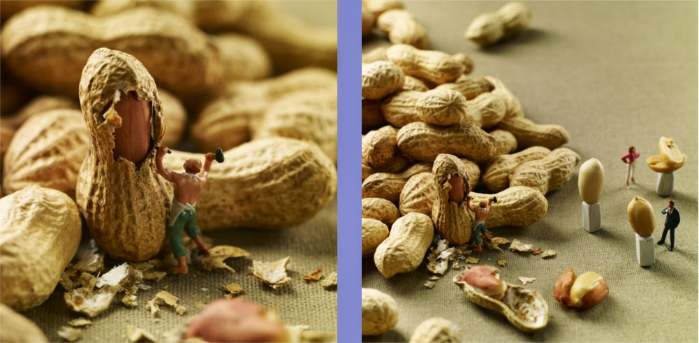 08-Peanut-Sculptures-Akiko-Ida-and-French-Pierre-MINIMIAM-Miniatures-in-a-Large-World-www-designstack-co