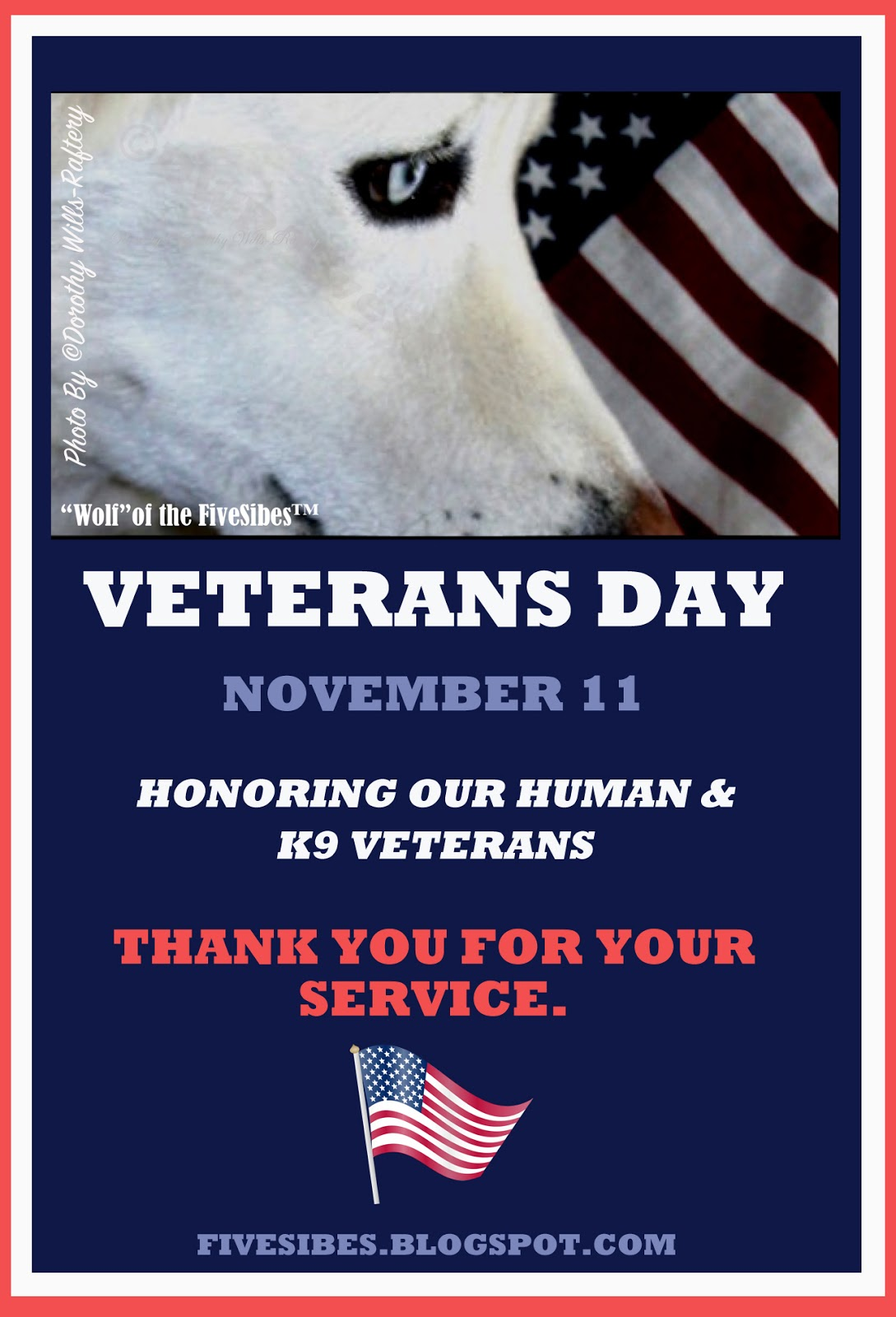 Fivesibes Veterans Day Honoring Our Heroes