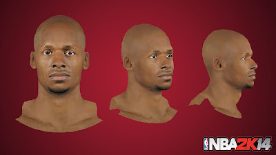 NBA 2K14 Ray Allen Cyberface Mod