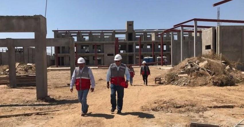 PRONIED: Destacan avances en obras en tres colegios emblemáticos de La Libertad - www.pronied.gob.pe