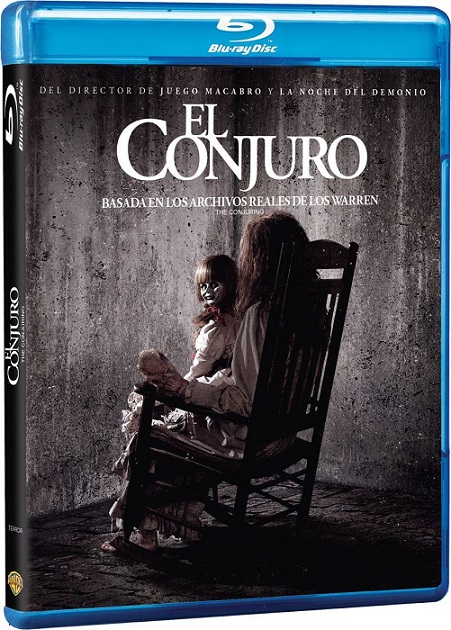 The Conjuring (El Conjuro) (2013) 1080p BluRay REMUX 23GB mkv Dual Audio DTS-HD 5.1 ch