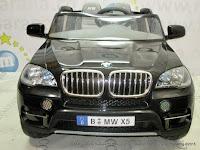 Mobil Mainan Aki Junior JB15 BMW X5 Lisensi Black