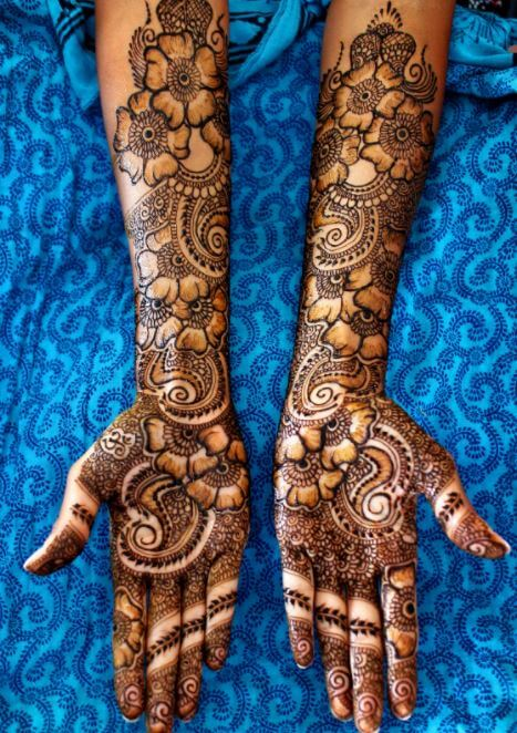 8104e9c83dfbf 100+ Latest Mehndi Designs For Girls (Simple & Easy -2018) | Tattoo ...
