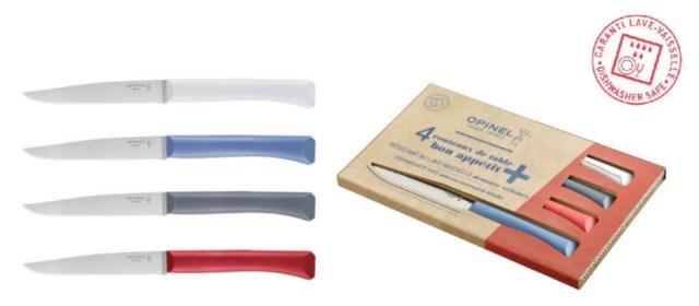 Opinel : couteaux de table Bon Appétit+