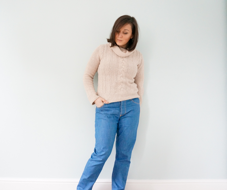 Closet Case Patterns Morgan Boyfriend Jeans sewing pattern review