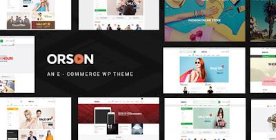 Orson v1.7 – Innovative Ecommerce WordPress Theme for Online Stores