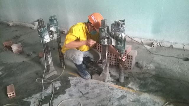 Khoan cắt bê tông tại Phú Yên