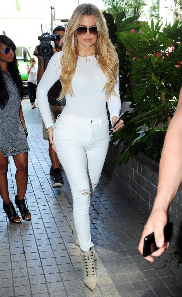 Khloe Kardashian in the style photo