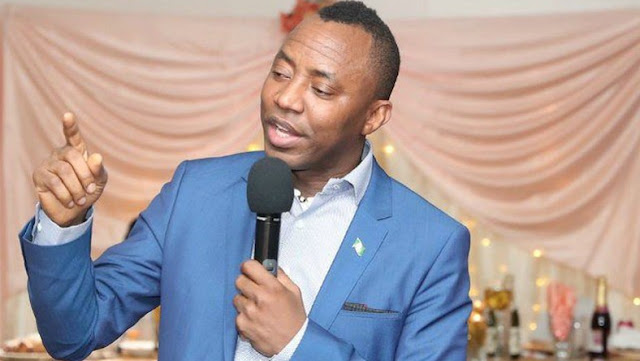 2019 presidency: Sowore reacts to Soyinka's endorsement of Moghalu