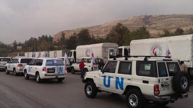 Atacan un convoy de ayuda humanitaria de la ONU en Siria