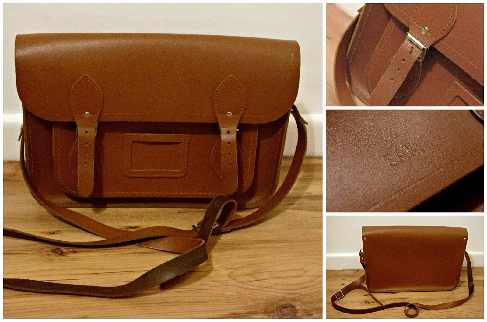 Tan Cambridge Satchel Company Satchel