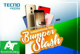 Tecno's Independence Day Bumper Slash