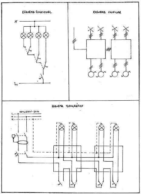 Pr ctica 09 luces en cascada para bodega electroalmerienses - Lamparas de bodega ...