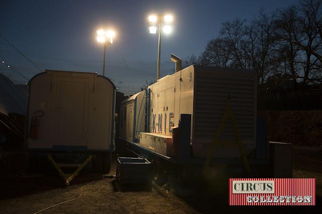 générateur électrique du cirque