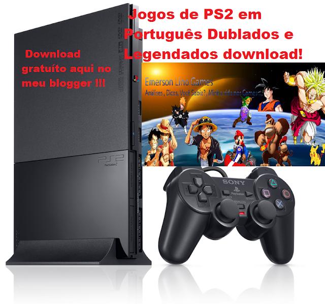 Emerson Lino Games  Jogos de PS2 em Português - Jogos Dublados e ... 8feb4bbeb112a