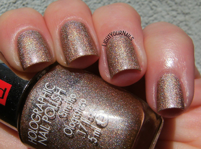 Pupa n. 39 Holographic Taupe