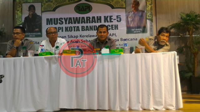 Putut Rananggono Pimpin RAPI Kota Banda Aceh