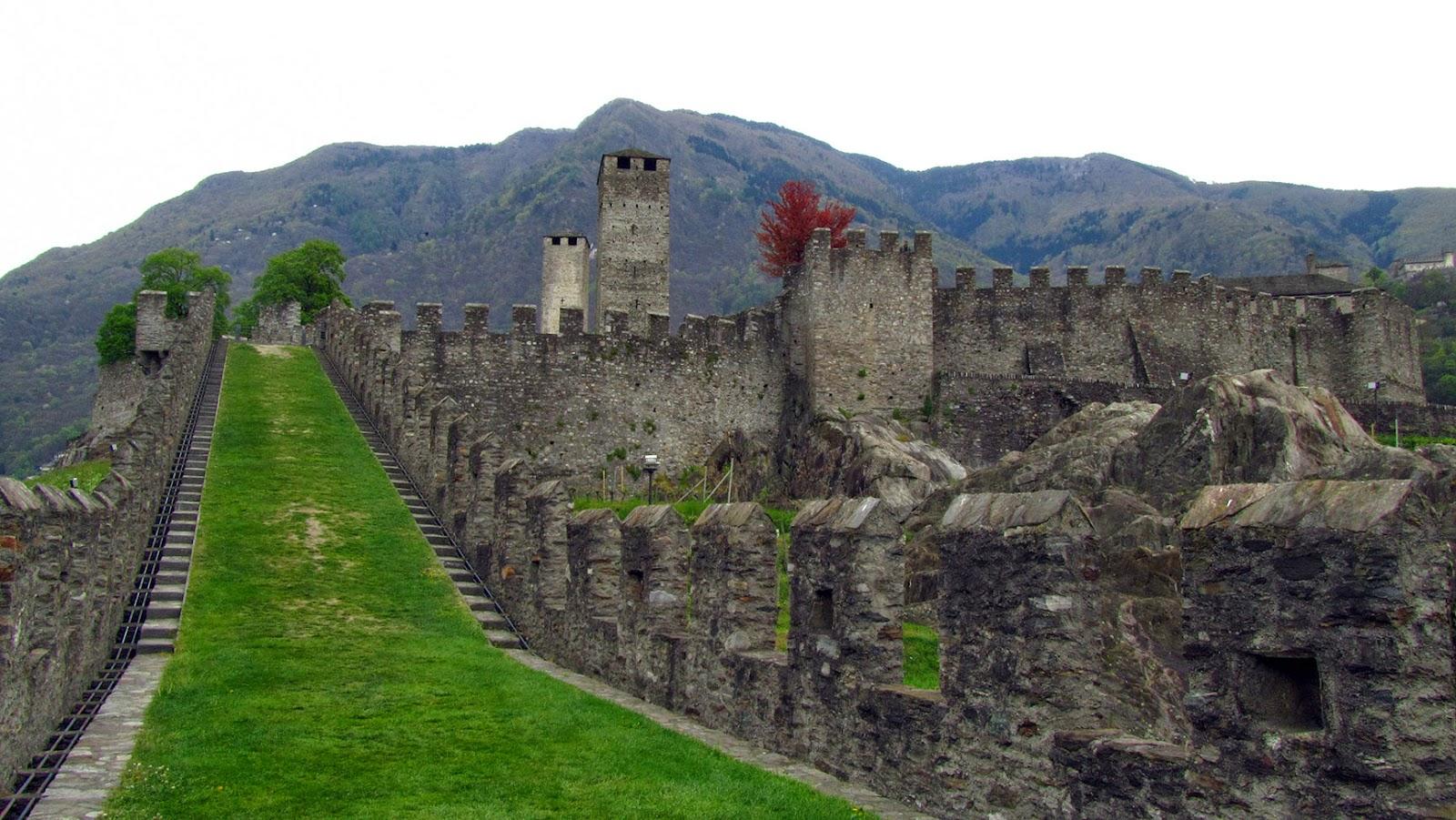 Ticino_Bellinzona en el Castle Grande
