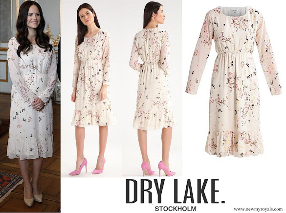 Princess Sofia wore Dry Lake Holiday Dress