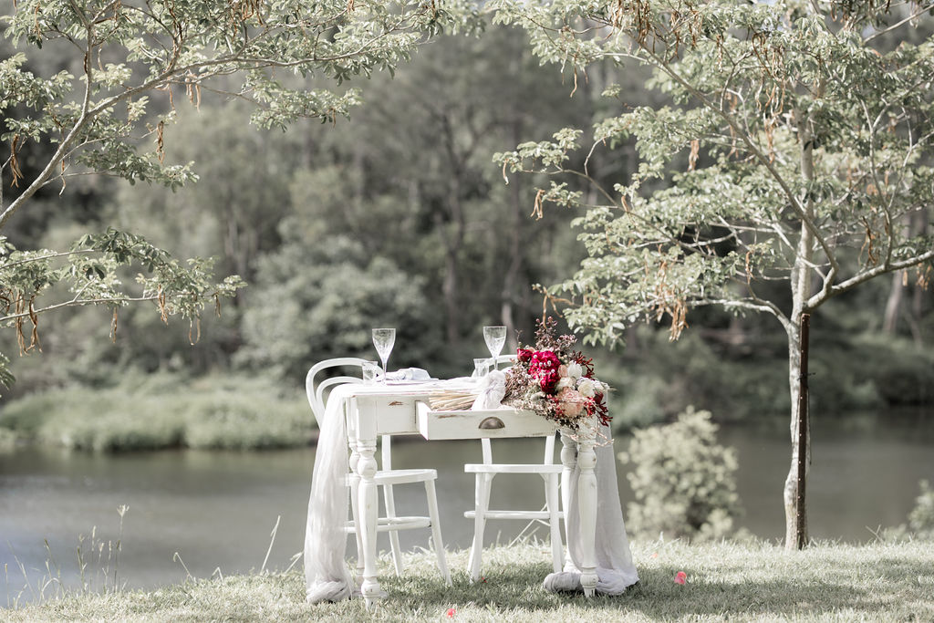 orchard grove studios wedding photography scenic rim bride gold coast australian designer bridal gown