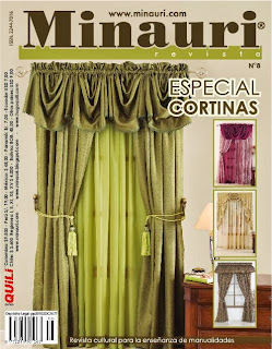 Revista Cortinas Magazine Curtain Coser Confeccionar Tendina Persiana