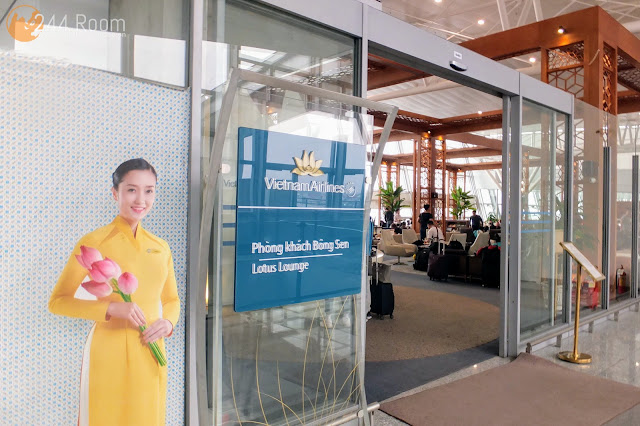 Noibai Airport Lotus Lounge ロータスラウンジ