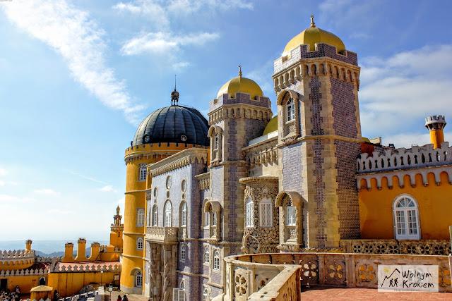 Pałac Pena w Sintrze Portugalia